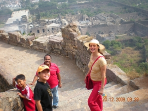 Galconda fort ramparts