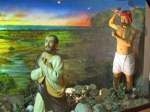 Matyurdom of St. Thomas, Apostle