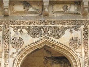 Decorative design closeup
