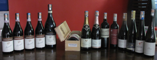 A range of quality wines