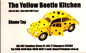 Yellow Beetle Kitchen